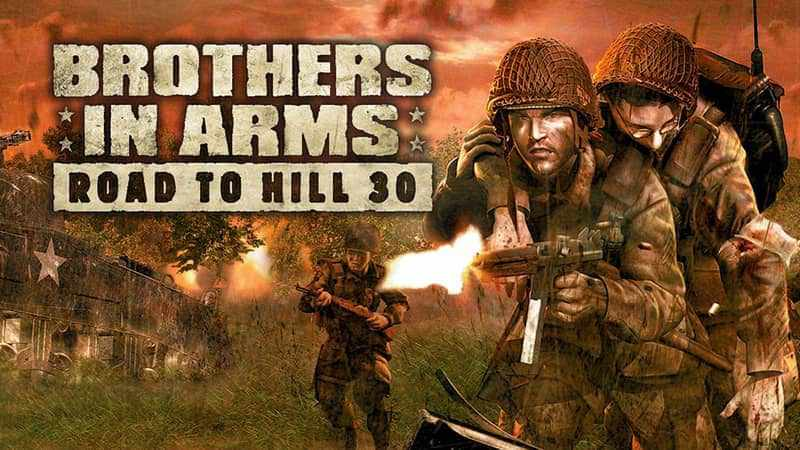 Game FPS Ringan Terbaik - Brothers in Arms: Road to Hill 30