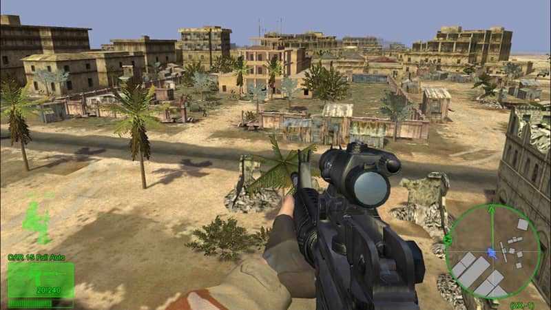 Game FPS Ringan Terbaik - Delta Force: Black Hawk Down