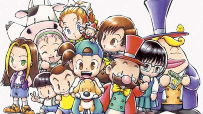 Game PS1 Terbaik - Harvest Moon Btn