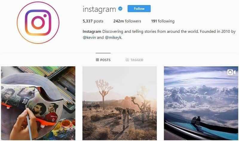 Cara Menambah Follower Instagram dengan Follow Akun-akun Populer