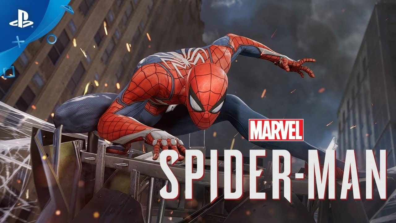 Game PS4 Terbaik -  Marvels Spider Man