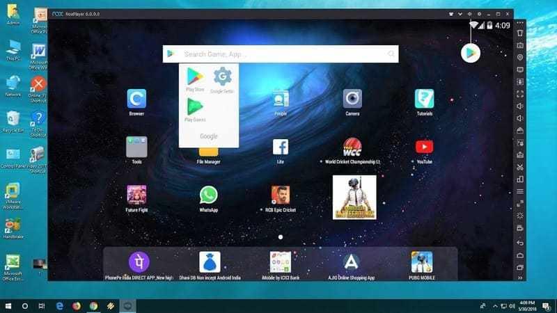 Emulator Android Terbaik - Nox