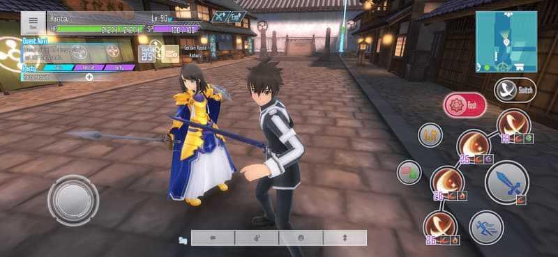 gameplay Sword Art Online: Integral Factor 3