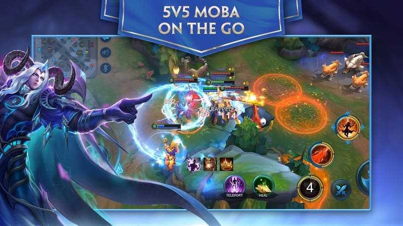 Heroes Evolved - Game MOBA Android_HGN