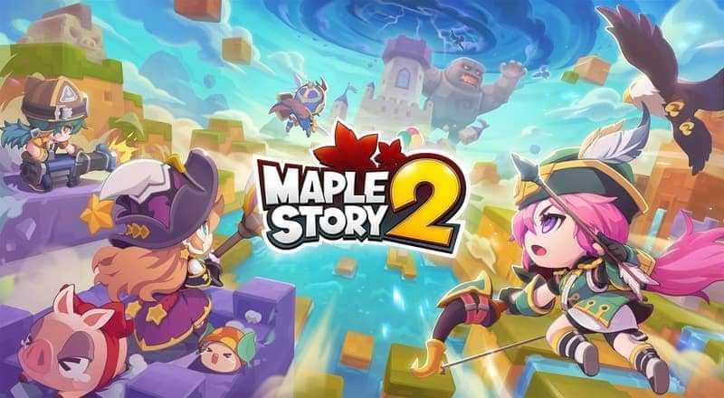 MapleStroy 2 - Game MMORPG terbaik