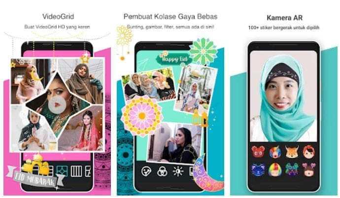 aplikasi edit photo collage - photo grid