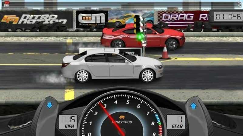 game balap mobil - Drag Racing