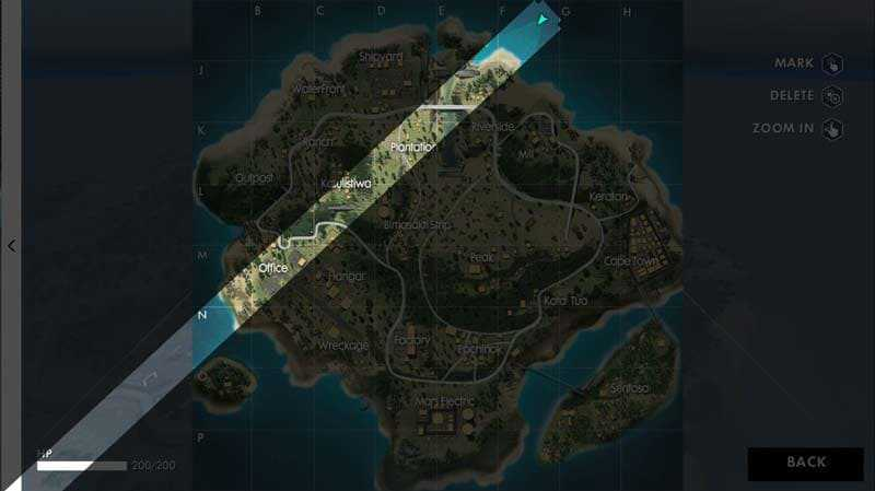free fire map