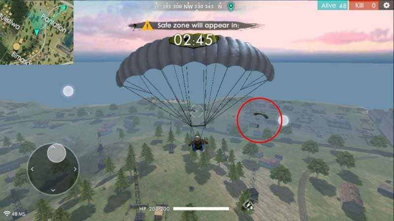 free fire parasut 2