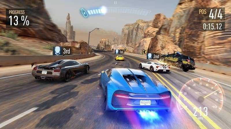 game balap mobil - Need for Speed No Limits
