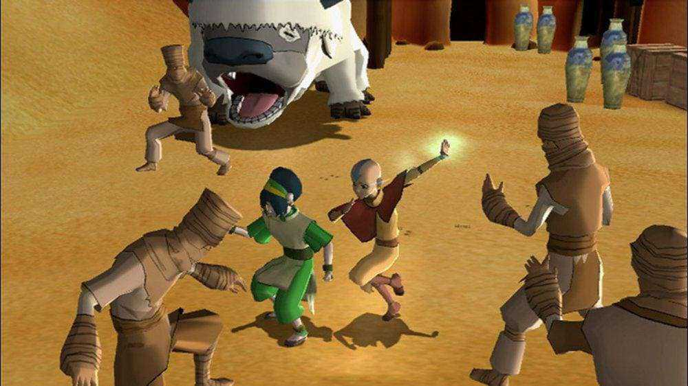 Kode Cheat Avatar The Last Airbender PS2