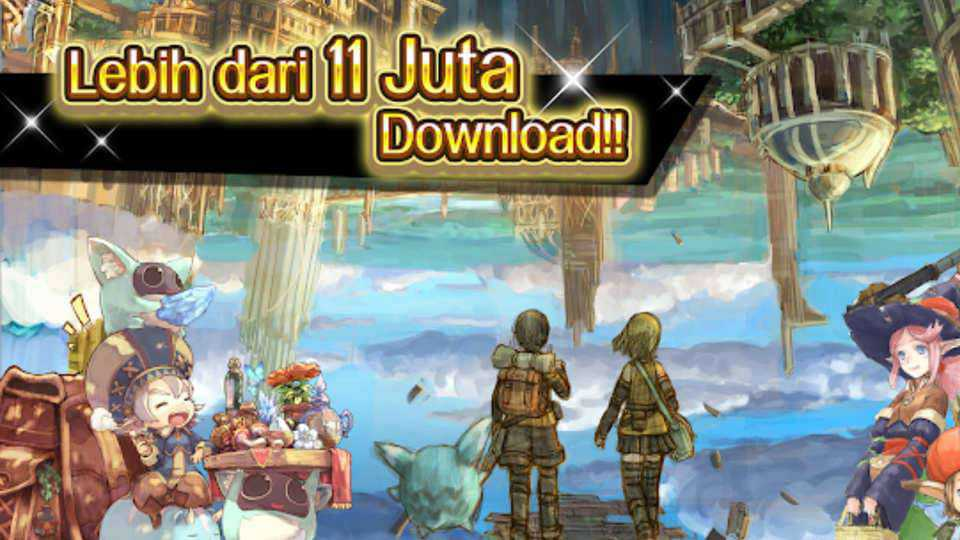 game anime android - rpg toram online