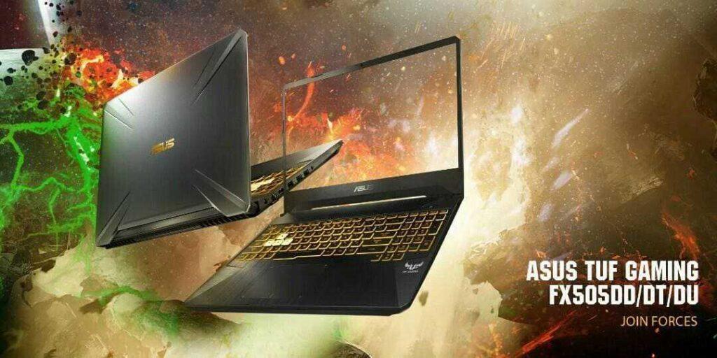 Laptop gaming - Asus TUF FX505DT R5586T Ryzen 5 3550H GTX 1650