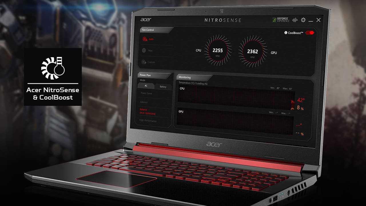 Acer Predator Nitro 5 15-54-50J1 i5 9300H