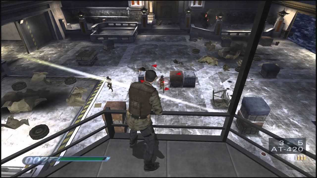 cheat james bond 007 everything or nothing ps2
