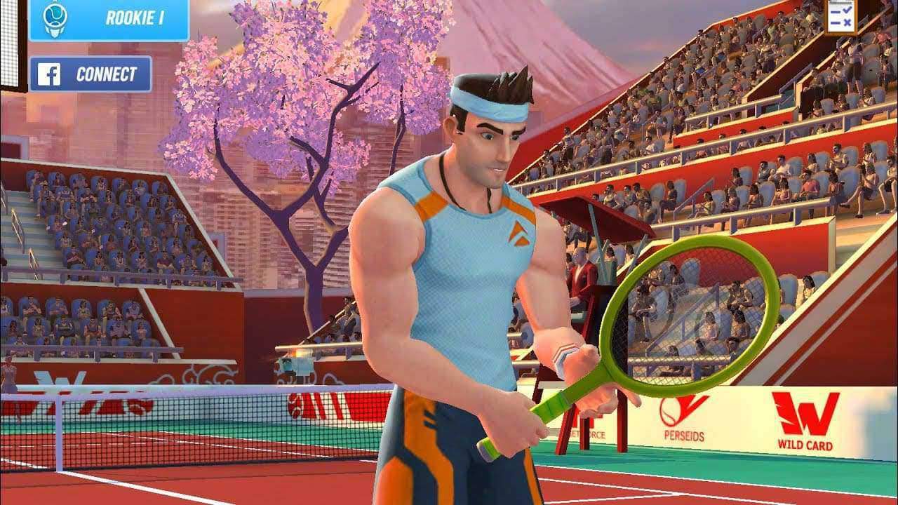 Game sports android Tennis clash: 3d online sports