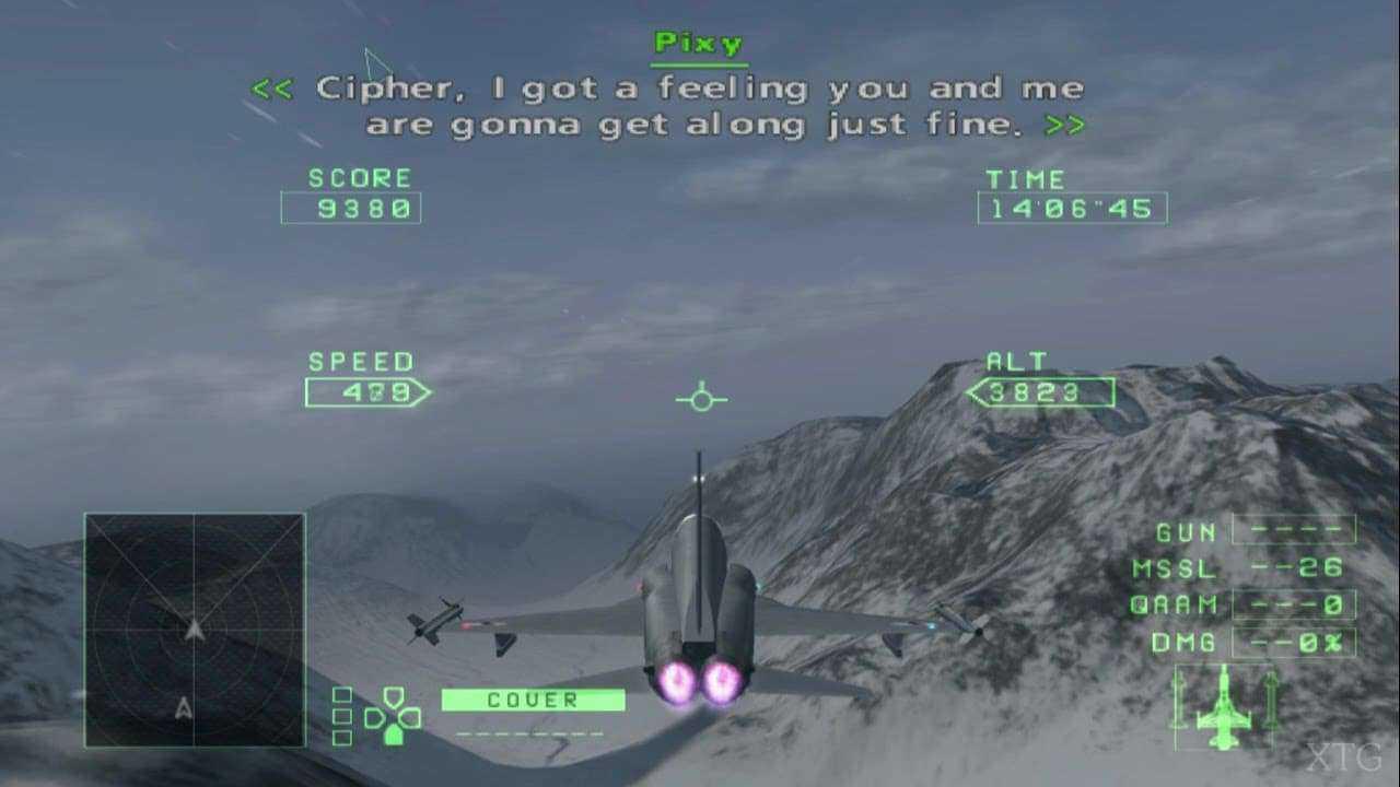 Cheat Ace Combat Zero: The Belkan War PS2