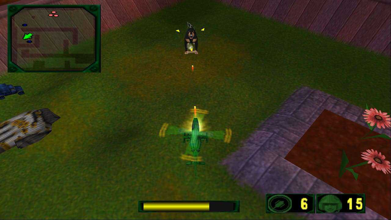 cheat army men air attack 2 ps2