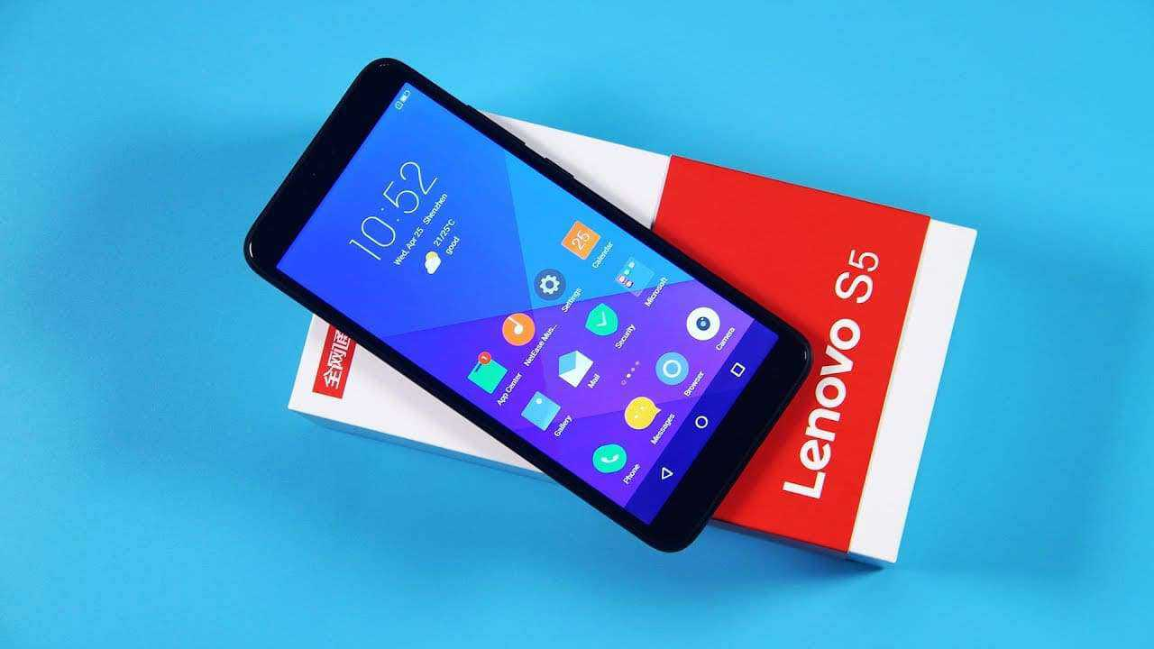 lenovo s5 hp android murah terbaik harga 1 jutaan