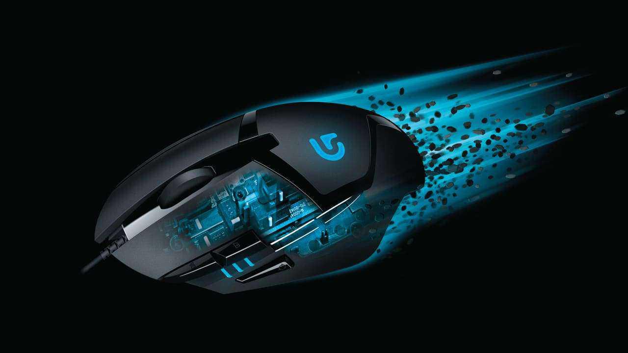 Logitech g402 hyperion fury mouse gaming murah terbaik