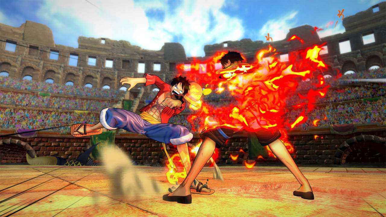 game pc anime terbaik one piece burning blood