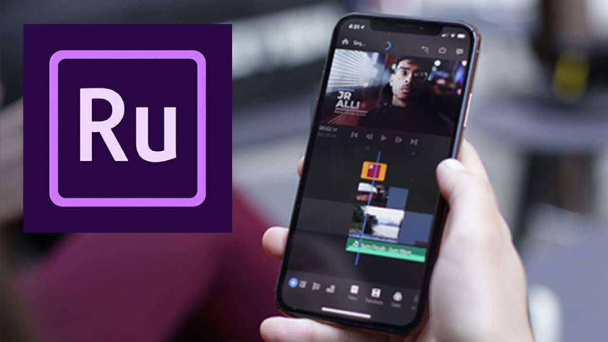aplikasi edit video android terbaik - adobe priemere rush