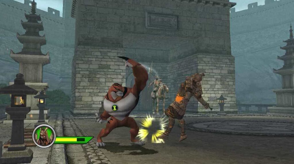 cheat Ben 10 Ultimate: Cosmic Destructuin PS2