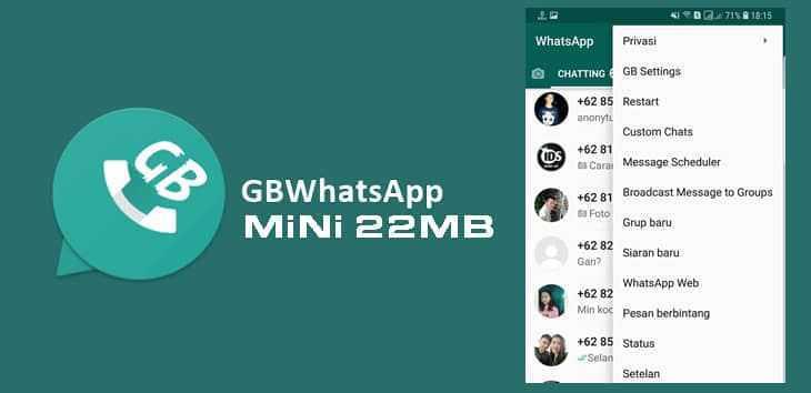 gb whatsapp mini