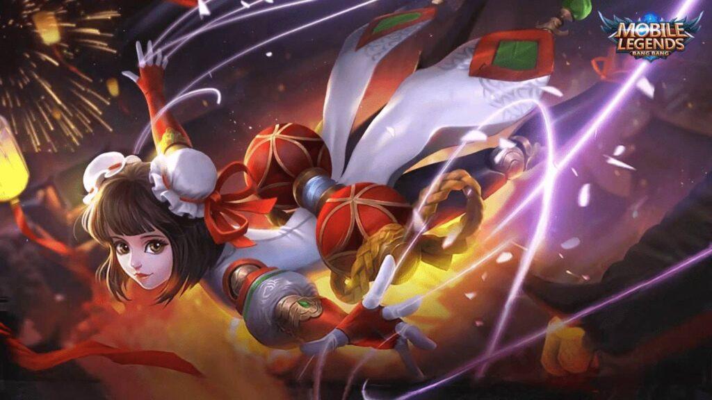 Wallpaper Angela MLBB Skin Shanghai Maiden HD for PC Hobigame