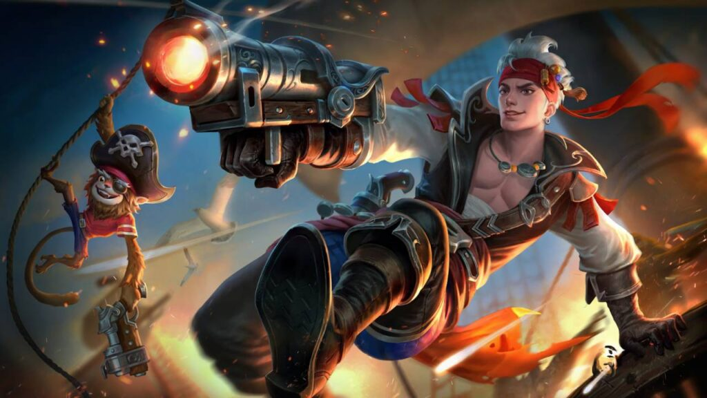 Wallpaper Claude MLBB Skin Claude Plunderous Pirate HD for PC Hobigame