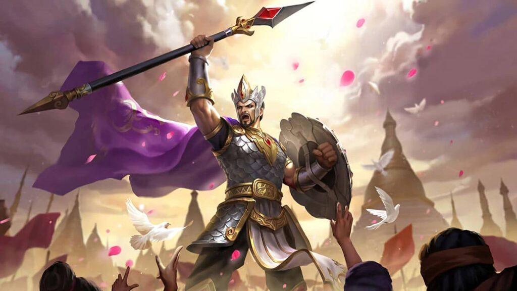 Wallpaper Minsitthar MLBB Skin King of War HD for PC Hobigame