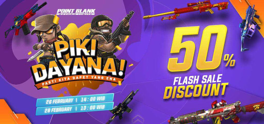 flash sale pb