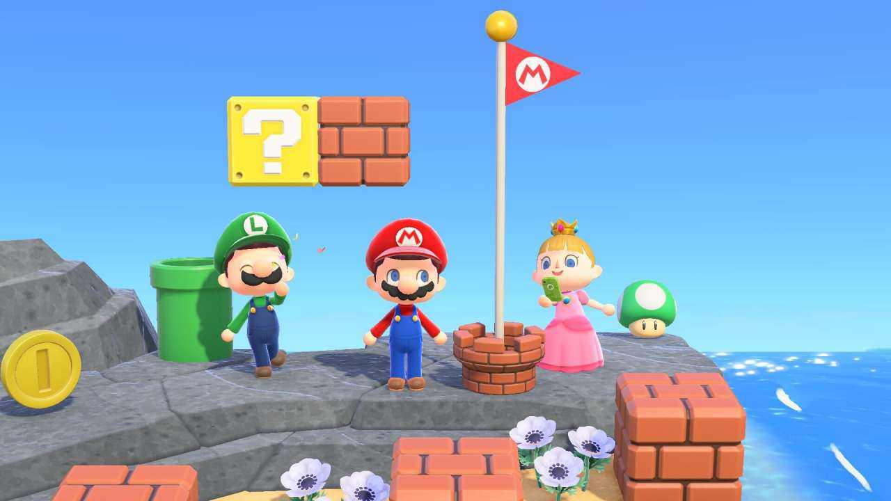 Animal Crossing: The New Horizons x Super Mario Bros