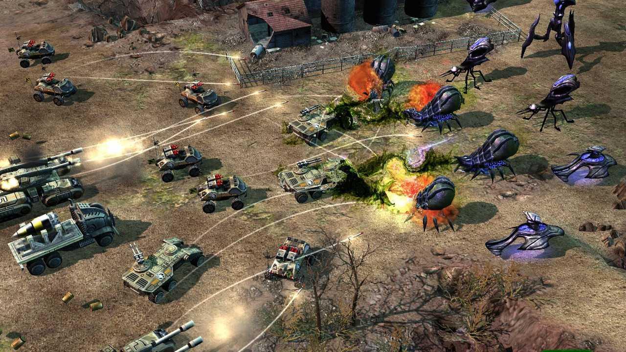 wallpaper Command & Conquer 3: Tiberium Wars game strategi pc