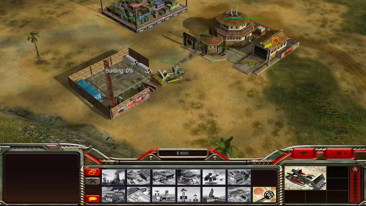 wallpaper Command and Conquer: Generals game strategi