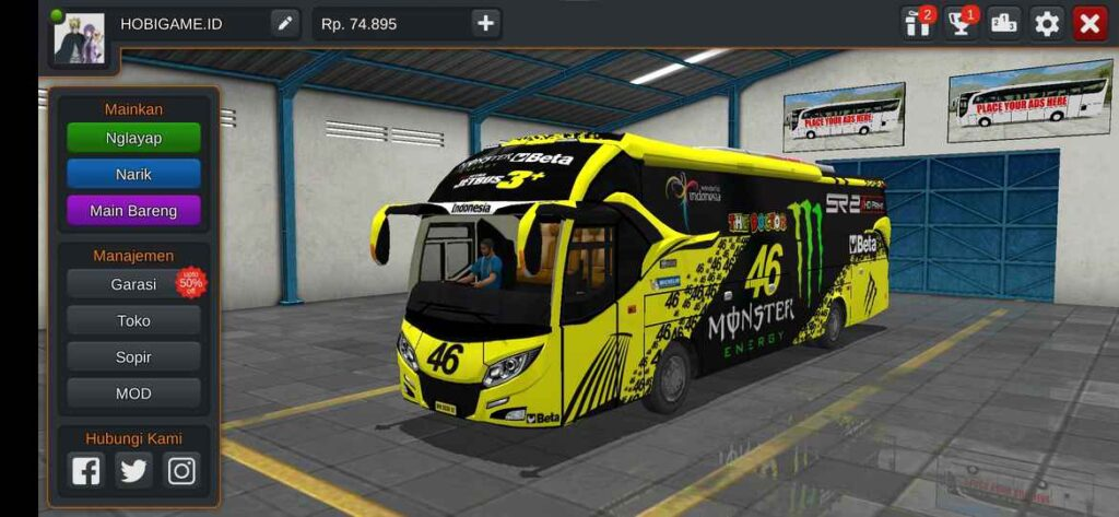 download livery bussid xhd