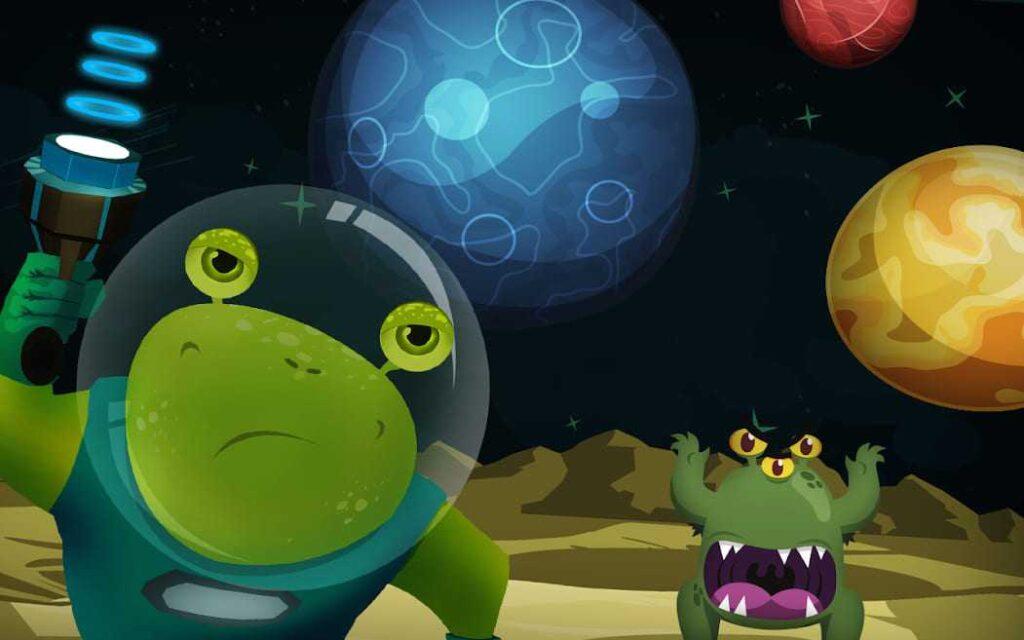 game ringan android galactic rush 3d