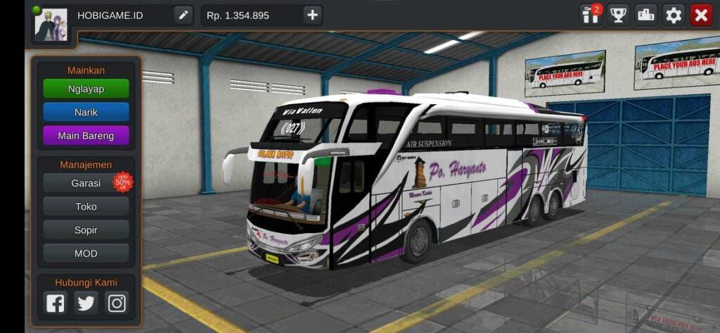 download livery bussid shd
