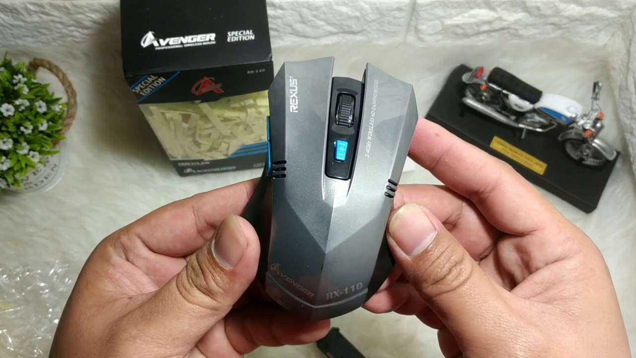 gaming mouse wireless murah Rexus Avenger RX-110