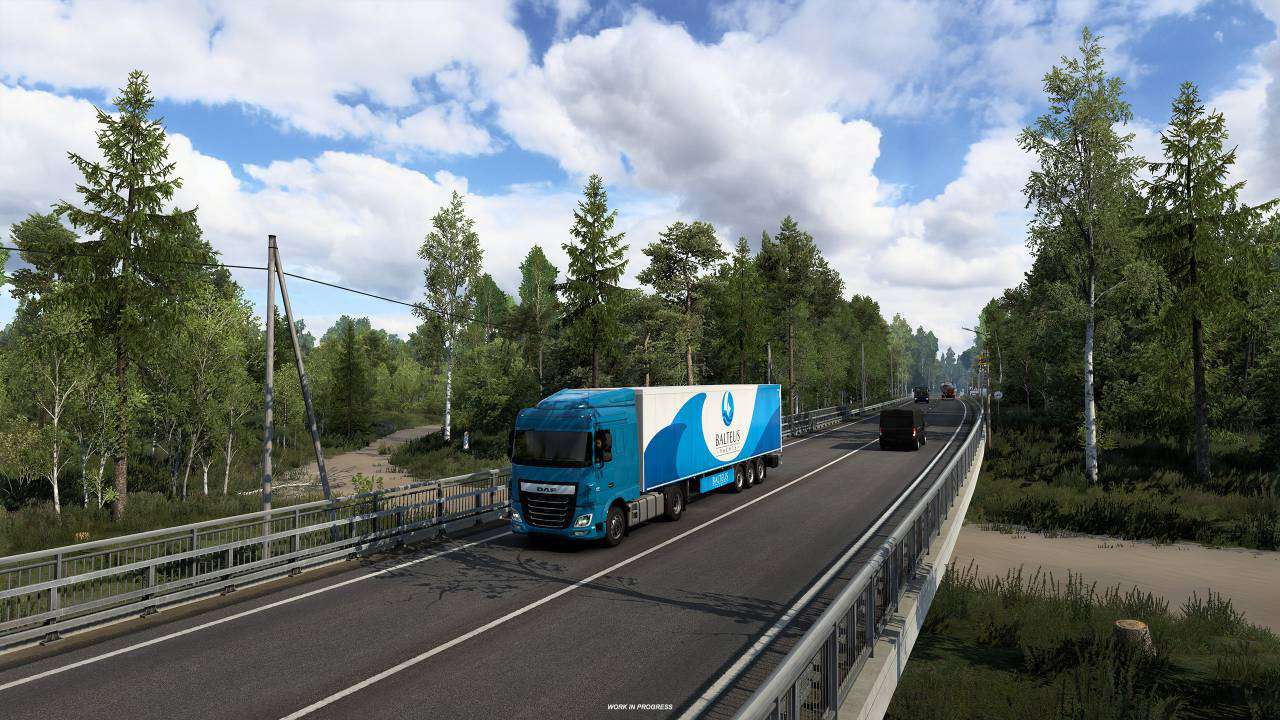 DLC ETS 2Heart of Rusia