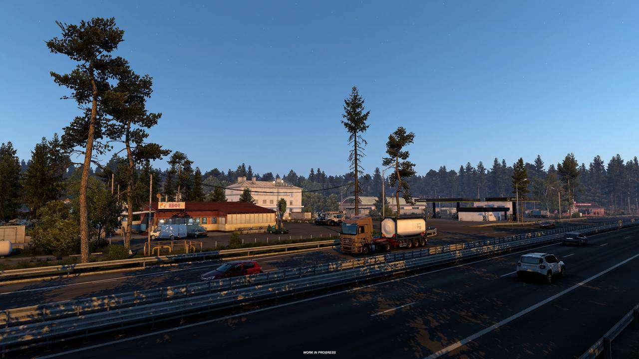 DLC ETS 2 Heart of Rusia