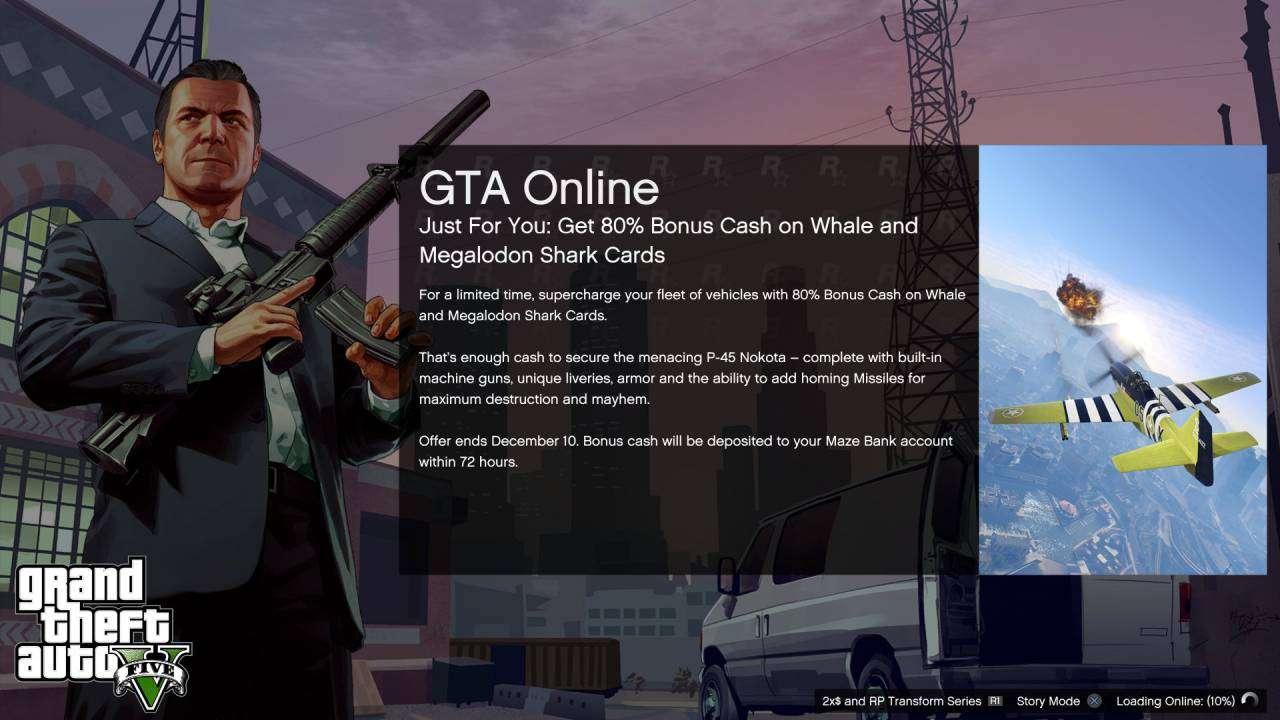 GTA Online loading