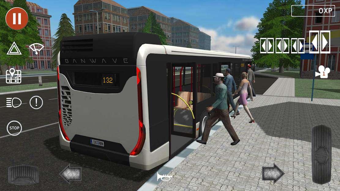 public transportasi simulator