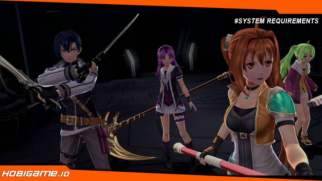 spesifikasi pc The Legend of Heroes: Trails of Cold Steel IV