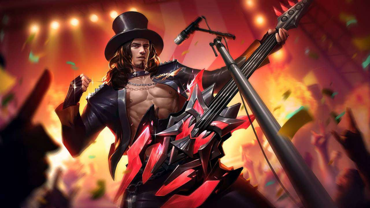 Wallpaper Clint MLBB Skin Rock and Roll HD for PC Hobigame