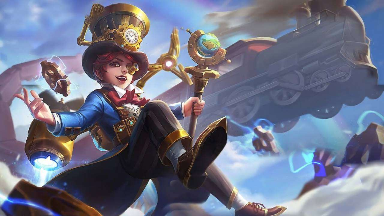 Harley MLBB Skin Great Inventor HD Wallpaper for PC Hobigame
