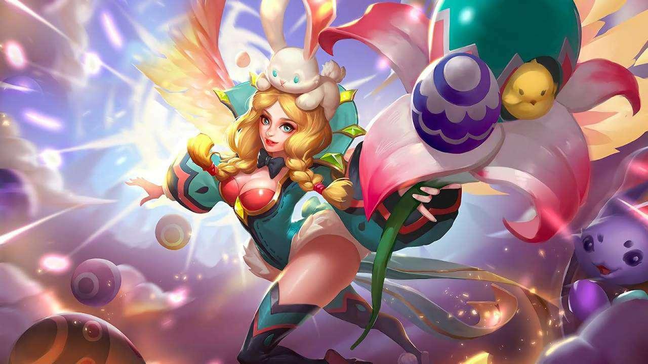 Rafaela Wallpaper MLBB Skin Flower Fairy HD for PC Hobigame