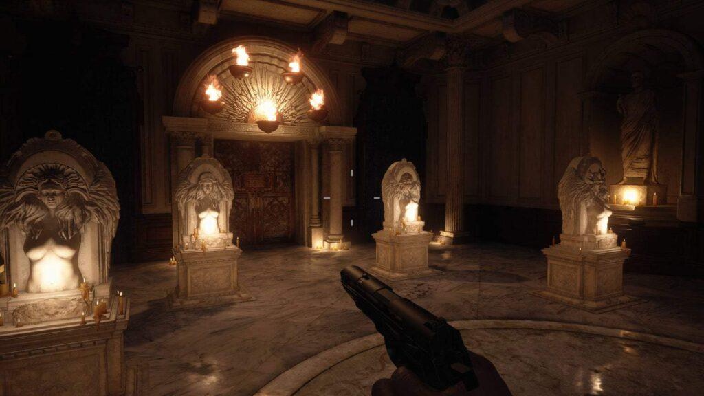 Hall of Four Resident Evil Village
