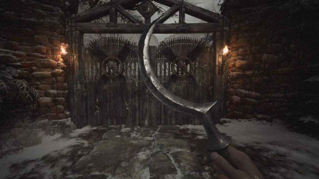 more melee weapon mod resident evil village