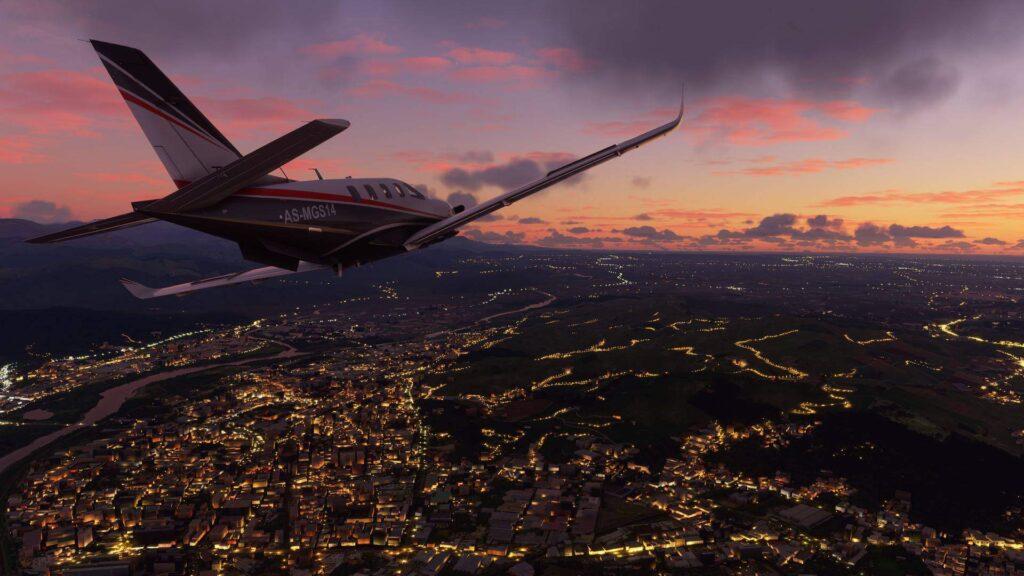 microsoft flight simulator 2